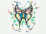 Untitled (Butterfly) by T. Barrera