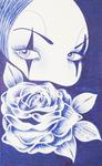 Sad Eyes by L. Carrasco