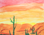 Turtles Desert by P. Ordway