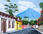 Antigua Guatemala by R. Escobar