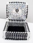 Black & Silver Jewelry Box by R. Tarazon