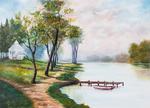 Landscape by B. Hefner