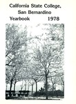 California State College, San Bernardino Yearbook 1978 by CSUSB