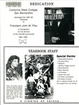 Concatenation Yearbook 1981-1982 by CSUSB