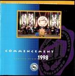 Commencement Program 1998