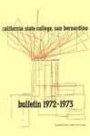 Course Catalog 1972-1973 by CSUSB