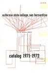 Course Catalog 1971-1972 by CSUSB