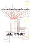 Course Catalog 1971-1972