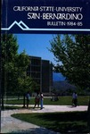 Course Catalog 1984-1985 by CSUSB