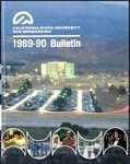 Course Catalog 1989-1990 by CSUSB