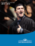 Course Catalog 2014-2015 by CSUSB