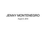 Jenny Montenegro Presentation by Jessica Agustin