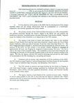 1994 - Memorandum of Understanding (MOU)